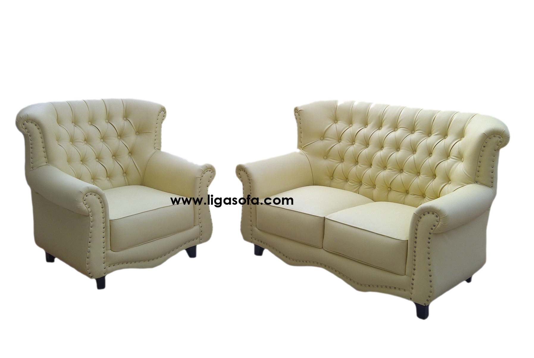 Chesterfield sofa jakarta for Couch jakarta